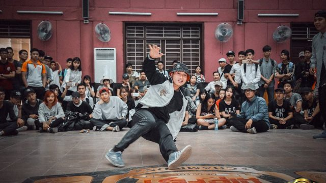 Hipfest 2016 hà nội – top 16 bboy- The Last Battle vs Gangster team