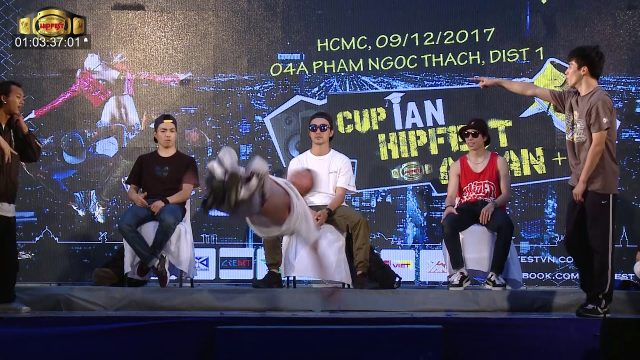 Top Coalition Taiwan – Vhight P Thailan | Top 8 Final Cup iAN Hipfest 09/12/2017