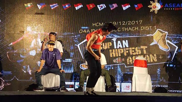 judgeshow bboy | Final iAN Hipfest 9/12/2017