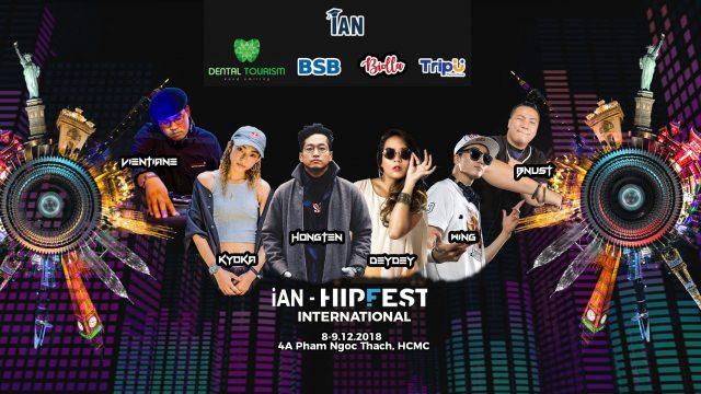 Lễ hội Hiphop 2018 quy tụ anh tài khắp thế giới