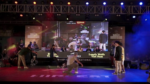 Bigflow (Vietnam)- Lonely Wolf (Japan) – Top 4 – HIPFEST 2018