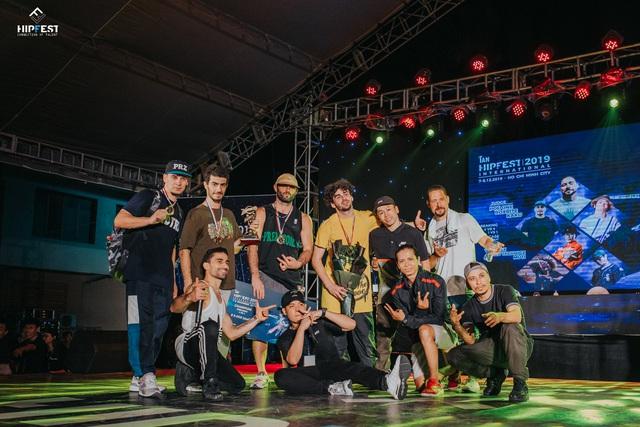 """Hipfest 2019 """"iAN – Hipfest International"""" Chung kết world final: hội tụ những ngôi sao lớn Hiphop thế giới - 4"""